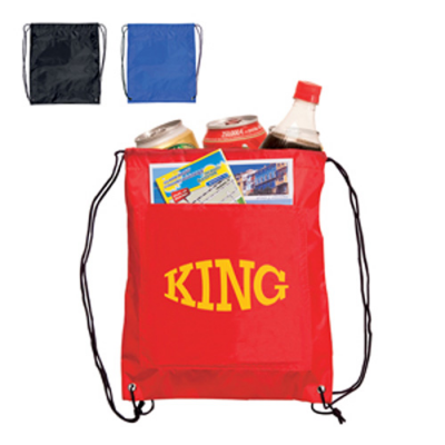 Image of Drawstring Cooler Bag