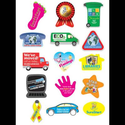 Image of Rectangular Paper Stickers: 25 x 38mm 49 per sheet