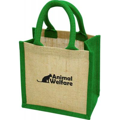Image of Green & Good Wells Tiny Jute Gift Bag