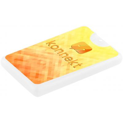 Image of 20ml Credit Card Hand Sanitiser with Label